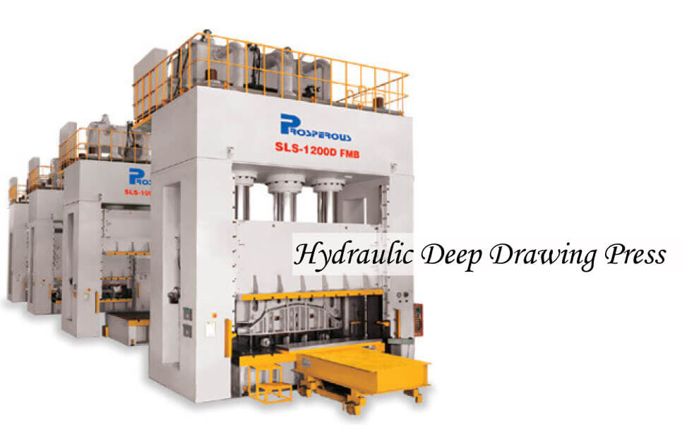 Hydraulic Deep Drawing Press model of SLS-800D~SLS-1500D product image