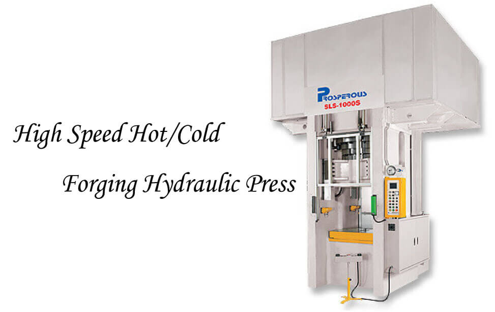 High-Speed Hot/Cold Forging Hydraulic Press model of SLS-1200S~SLS-1500S product image